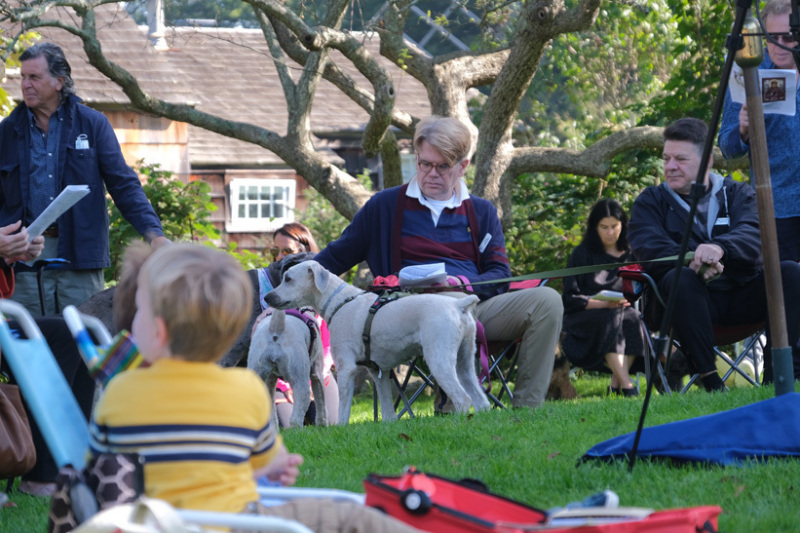 Blessing of the Animals in East Hampton